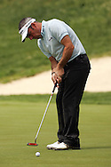 Paul McGinley putts on the 18th green in the Open de Espana in Madrid...Photo NEWSFILE/Eoin Clarke.(Photo credit should read Eoin Clarke/NEWSFILE)....This Picture has been sent you under the condtions enclosed by:.Newsfile Ltd..The Studio,.Millmount Abbey,.Drogheda,.Co Meath..Ireland..Tel: +353(0)41-9871240.Fax: +353(0)41-9871260.GSM: +353(0)86-2500958.email: pictures@newsfile.ie.www.newsfile.ie.FTP: 193.120.102.198..