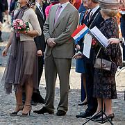 NLD/Thorn/20110430 - Koninginnedag 2011 in Thorn, Maxima, Willem - Alexander en Beatrix