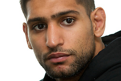 © Licensed to London News Pictures. 30/05/2012. Bolton, UK. Amir Khan holds a workout photocall in Bolton ahead of his stint as an Olympic torchbearer on 31st May. Photo credit : Joel Goodman/LNP