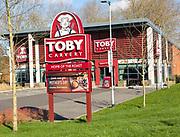 Toby carvery restaurant food chain, Trowbridge, Wiltshire, England, UK