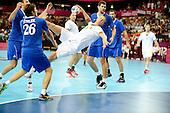 20120806 France Handball Homme Jeux Olympiques Londres premier tour Copper Box
