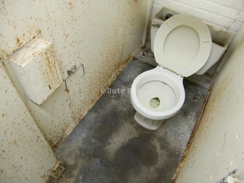 old toilet room