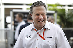 October 19, 2017 - Austin, United States of America - Motorsports: FIA Formula One World Championship 2017, Grand Prix of United States, ..Zak Brown (USA, McLaren Honda) (Credit Image: © Hoch Zwei via ZUMA Wire)