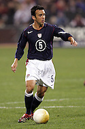 10 February 2006: Kerry Zavagnin of the United States. The United States Men's National Team defeated Japan 3-2 at SBC Park in San Francisco, California in an International Friendly soccer match.