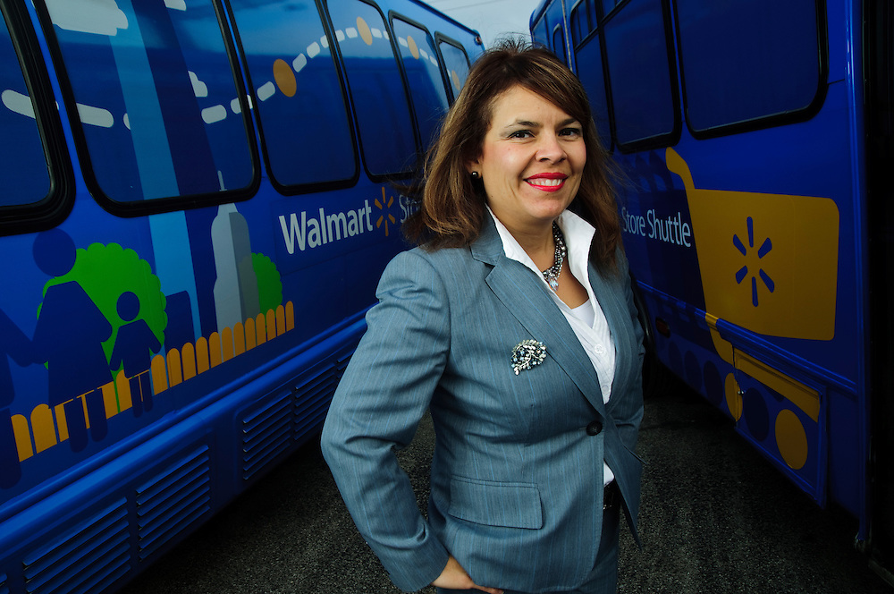 Letty Hudson is President and CEO of Chicago Mini Bus Travel in Rosemont, IL. Her company is recently contracted with WalMart to shuttle customers directly to their Chicago-area stores. Novermber 28, 2011. Copyright 2011 Brian J. Morowczynski ViaPhotos. ..For use in a single edition of Negocios Now, Nicado Publishing, Chicago, Il. Further use is restricted without permission. Third party distribution is prohibited. For further use and/or distribution, please contact ViaPhotos at 708-602-0449 or brian@viaphotos.com