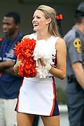 Sept. 3, 2011 - Charlottesville, Virginia - USA; Virginia Cavaliers Cheerleaders cheer during an NCAA football game against William & Mary at Scott Stadium. Virginia won 40-3. (Credit Image: © Andrew Shurtleff