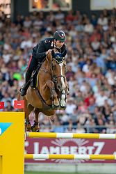 GAUDIANO Emanuele (ITA), Chalou<br /> Aachen - CHIO 2018<br /> Mercedes Benz Nationenpreis<br /> 19. Juli 2018<br /> © www.sportfotos-lafrentz.de/Stefan Lafrentz