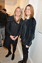 Left to right, ARABELLA BURWELL and SOPHIE FITZPATRICK at a private view entitled Stop Making Sense featuring work by Georgiana Anstruther and Carol Corell held at Lacey Contemporary, 8 Clarendon Cross, London on 9th March 2016.