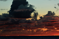 Pacific Ocean Sunrise Panorama viewed from the aft deck of the MV World Odyssey. Image 3 of 20 taken with a Nikon 1 V3 camera and 70-300 mm VR lens (ISO 200, 82 mm, f/8, 1/250 sec). Raw images processed with Capture One Pro and the panorama created using AutoPano Giga Pro.