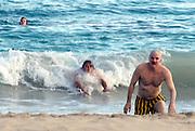 **EXCLUSIVE**.Steve Martin on the Beach.St. Barth, Caribbean.Monday, January 10, 2004.Photo By Celebrityvibe.com/Photovibe.com, New York, USA, Phone 212 410 5354, email:sales@celebrityvibe.com...