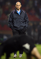 Photo: Paul Thomas.<br /> Manchester United v FC Copenhagen. UEFA Champions League, Group F. 17/10/2006.<br /> <br /> Stale Solbakken, Copenhagen manager.