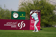 Cormac Sharvin (NIR) on the 18th during Round 1 of the Commercial Bank Qatar Masters 2020 at the Education City Golf Club, Doha, Qatar . 05/03/2020<br /> Picture: Golffile   Thos Caffrey<br /> <br /> <br /> All photo usage must carry mandatory copyright credit (© Golffile   Thos Caffrey)