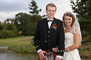 Sara & Craig's wedding photographs at Horsley Lodge, Derbyshire.