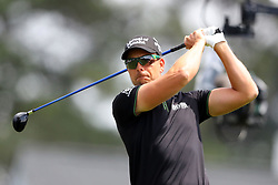 April 8, 2018 - Augusta, GA, USA - Henrik Stenson tees off on one during the final round of the Masters at Augusta National Golf Club on Sunday, April 8, 2018, in Augusta, Ga. (Credit Image: © Curtis Compton/TNS via ZUMA Wire)