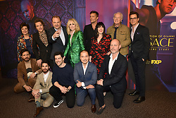 Cody Fern, Edgar Ramirez, Darren Criss, Max Greenfield, Judith Light, Matt Bomer and Ricky Martin attend the screening of FX's 'The Assassination Of Gianni Versace: American Crime Story' on March 19, 2018 in Los Angeles, California. Photo by Lionel Hahn/AbacaPress.com