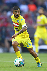 August 1, 2017 - Munich, Germany - Lorenzo Insigne of Napoli during the first Audi Cup football match between Atletico Madrid and SSC Napoli in the stadium in Munich, southern Germany, on August 1, 2017. (Credit Image: © Matteo Ciambelli/NurPhoto via ZUMA Press)