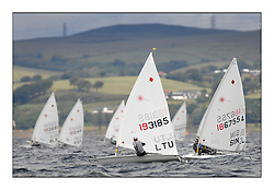 Gintare Sheidt, LTU 193185.Opening races in breezy conditions for the Laser Radial World Championships, taking place at Largs, Scotland GBR. ..118 Women from 35 different nations compete in the Olympic Women's Laser Radial fleet and 104 Men from 30 different nations. .All three 2008 Women's Laser Radial Olympic Medallists are competing. .The Laser Radial World Championships take place every year. This is the first time they have been held in Scotland and are part of the initiaitve to bring key world class events to Britain in the lead up to the 2012 Olympic Games. .The Laser is the world's most popular singlehanded sailing dinghy and is sailed and raced worldwide. ..Further media information from .laserworlds@gmail.com.event press officer mobile +44 7775 671973  and +44 1475 675129 .
