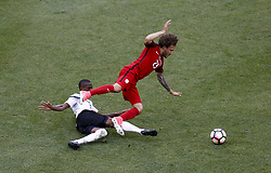 June 8, 2017 - Commerce City, Colorado, United States - Commerce City, CO - Thursday June 08, 2017: Fabian Johnson during their 2018 FIFA World Cup Qualifying Final Round match versus Trinidad & Tobago at Dick's Sporting Goods Park. (Credit Image: © Timothy Nwachuku/ISIPhotos via ZUMA Wire)