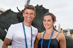 Muller Thomas, Lisa, GER<br /> CHIO Aachen 2018<br /> © Hippo Foto - Stefan Lafrentz<br /> 20/07/2018