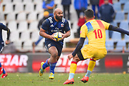 USA player Paul Lasike runs with the ball looking for a gap in the first half during the November Test match between Romania and USA at Ghencea Stadium, Bucharest, Romania on 17 November 2018.
