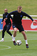 England midfielder James Ward-Prowse on the ball during the training session for England at St George's Park National Football Centre, Burton-Upon-Trent, United Kingdom on 28 May 2019.