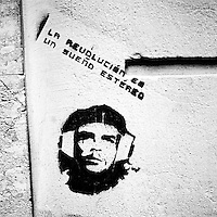 USE ARROWS ← → on your keyboard to navigate this slide-show<br /> <br /> Buenos Aires, Argentina March 2006<br /> Protest, resistance and memory:  The Stencil images in Buenos Aires. <br /> The stencil art takes the streets of the Argentinian capital. <br /> The stencil is an industrial variant of graffiti which involves cut out cardboard or x-rays and aerosol. <br /> Urban artists or militants use it to paint the city with messages that combine socio-political subject matter, imagination and irony.<br /> Photo: Ezequiel Scagnetti
