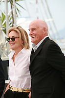 Actress Marthe Keller and Director Barbet Schroeder at the Amnesia film photo call at the 68th Cannes Film Festival Tuesday May 19th 2015, Cannes, France.