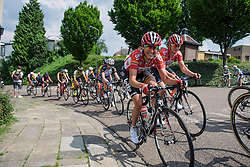 Sofie de Vuyst (Lotto Soudal) at Boels Hills Classic 2016. A 131km road race from Sittard to Berg en Terblijt, Netherlands on 27th May 2016.