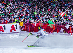 """29.01.2019, Planai, Schladming, AUT, FIS Weltcup Ski Alpin, Slalom, Herren, 2. Lauf, im Bild Manfred Moelgg (ITA) // Manfred Moelgg of Italy in action during his 2nd run of men's Slalom """"the Nightrace"""" of FIS ski alpine world cup at the Planai in Schladming, Austria on 2019/01/29. EXPA Pictures © 2019, PhotoCredit: EXPA/ Stefanie Oberhauser"""