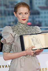 Jessica Hasusner (l) and Emily Beecham pose at the winners' photocall during the 72nd Cannes Film Festival at Palais des Festivals in Cannes, France, on 25 May 2019. Photo: Vinnie Levine. 25 May 2019 Pictured: Emily Beecham poses at the winners' photocall during the 72nd Cannes Film Festival at Palais des Festivals in Cannes, France, on 25 May 2019. Photo: Vinnie Levine. Photo credit: 2019 Hubert Bösl / MEGA TheMegaAgency.com +1 888 505 6342