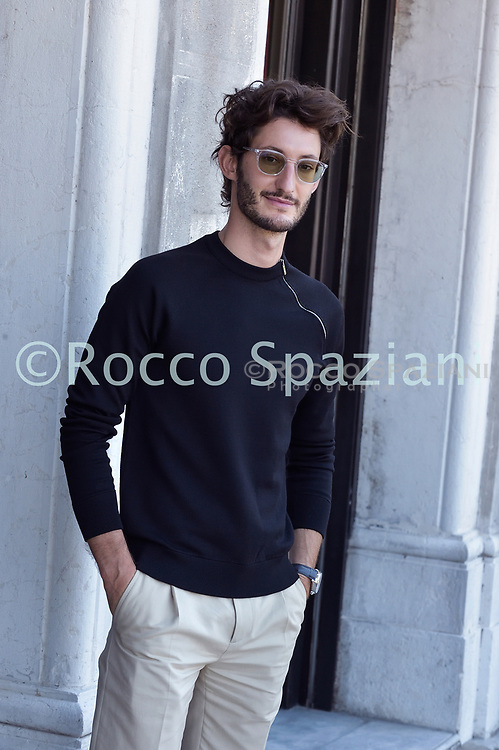 VENICE, ITALY - SEPTEMBER 03: Stacy Martin and Pierre Niney are seen arriving at the Excelsior during the 77th Venice Film Festival on September 03, 2020 in Venice, Italy.  (Photo by Rocco Spaziani)