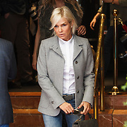 NLD/Amsterdam/20141002 - Actrice van de serie The Real Housewives of Beverly Hills in Amsterdam, Yolanda Foster