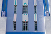Park Central Hotel, Miami's famous Art Deco architecture at South Beach, Miami