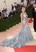 May 3, 2016 - New York City, NY, USA - <br /> <br /> Rita Ora arriving at the ''Manus x Machina: Fashion in the Age of Technology'', The Costume Institute of The Metropolitan Museum of Art Gala 2016<br /> ©Exclusivepix Media
