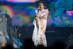 Halsey performs on stage during the MTV EMAs 2019 at FIBES Conference and Exhibition Centre on November 03, 2019 in Seville, Spain. Photo by David Niviere/ABACAPRESS.COM