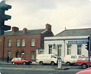 Old amateur photos of Dublin streets churches, cars, lanes, roads, shops schools, hospitals January 1992 Allied Irish Bank Annsley Bridge North Strand