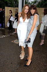 Left to right, EMILY OPPENHEIMER and CLAUDIA WINKLEMAN at the annual Serpentine Gallery Summer Party co-hosted by Jimmy Choo shoes held at the Serpentine Gallery, Kensington Gardens, London on 30th June 2005.<br /><br />NON EXCLUSIVE - WORLD RIGHTS