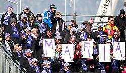 10.03.2010, Kandahar Strecke Damen, Garmisch Partenkirchen, GER, FIS Worldcup Alpin Ski, Garmisch, Lady Downhill, im Bild Feature, Fans von Maria Riesch, EXPA Pictures © 2010, PhotoCredit: EXPA/ J. Groder / SPORTIDA PHOTO AGENCY