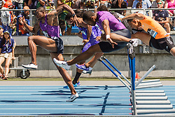adidas Grand Prix Diamond League Track & Field: Men's 110m Hurdles, David Oliver, USA