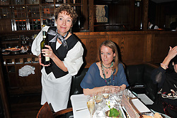 Left, EMMA THOMPSON at One Night Only at The Ivy held at The Ivy, 1-5 West Street, London on 2nd December 2012.