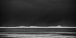 Heavy storm and rought sea at Holtsos, Eyjafjoll, Iceland - Brim skammt undan Holtsósi undir Eyjafjöllum