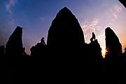 Sunset at Pre Rup, Angkor Wat, Siem Reap, Cambodia