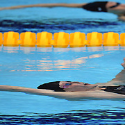 Missy Franklin, USA, during her 200m Backstroke semi final win at the Aquatic Centre at Olympic Park, Stratford during the London 2012 Olympic games. London, UK. 2nd August 2012. Photo Tim Clayton