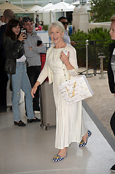 71st Cannes Film Festival 2018, Celebrities sightseen on the Croisette. Pictured: Helen Mirren