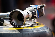May 25-29, 2016: Monaco Grand Prix. Ferrari wheel gun