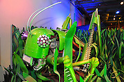 Israel, Haifa, MadaTech The Israel national Museum of Science The Robotic World exhibition. Robot Grasshopper