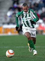Diego TARDELLI, Brazilian Football player and Betis forward, runs after the ball. Getafe - Betis / League 2005-06. Alfonso Perez Coliseum, Getafe. 05-03-2006.