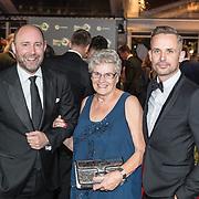 NLD/Amsterdam/20171012 - Televizier-ring Gala 2017, Patrick Martens en ouders