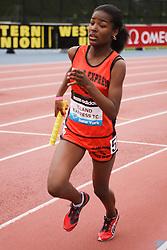 Samsung Diamond League adidas Grand Prix track & field; 4x400 meter relay youth girls, Island Express TC