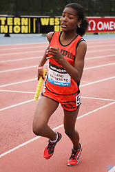 Samsung Diamond League adidas Grand Prix track & field; 4x400 meter relay youth girls, Island Express TC